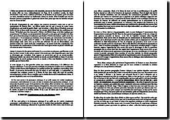 Brecht, Considérations sur les Arts plastiques, Extrait : explication de texte
