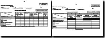Imprimé du bilan allégé selon le SYSCOA
