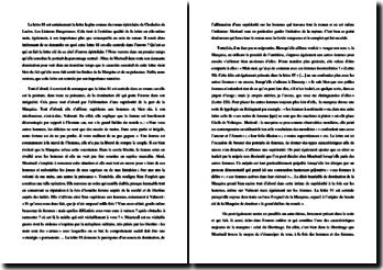 Choderlos de Laclos, Les Liaisons Dangereuses, Lettre 81 : commentaire