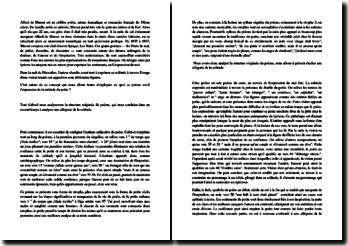 Commentaire de la poésie Nuit de Décembre d'Alfred De Musset.