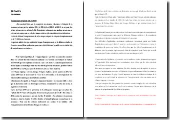 Commentaire de l'article 222-33-3CP