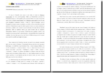 Chateaubriand, Mémoires d'outre-tombe, Le siège de thionville : commentaire