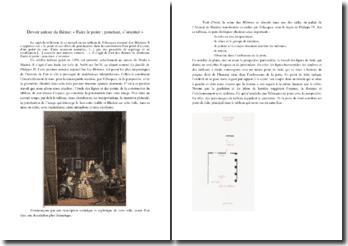 Analyse philosophique des Ménines de Vélasquez autour d'un thème : la ponctuation