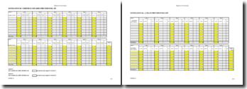 Plan de financement vierge (Excel)