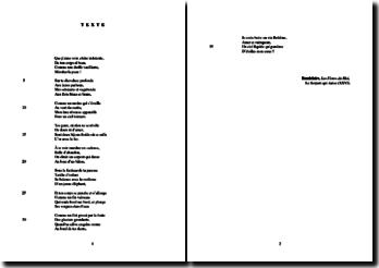 Baudelaire, Les Fleurs du Mal, Le Serpent qui danse (XXVI) : étude analytique
