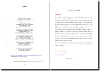 Jean-Pierre Claris de Florian, Fables, Livre II, Le Phénix : étude analytique