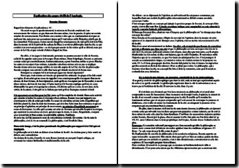 L'Apologie de Socrate, Platon, explication des pages 44 à 50