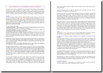 Les vices du consentement et l'obligation d'information
