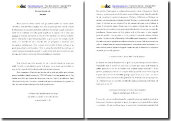 Jaccottet, L'Effraie, Les nouvelles du soir : commentaire