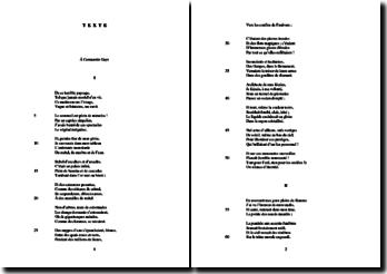 Baudelaire, Les Fleurs du Mal, Rêve parisien (CII) : étude analytique