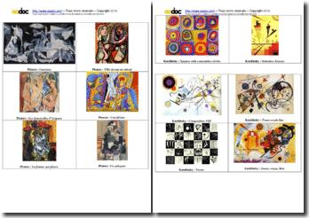 Histoire de l'art : jeu des 7 familles