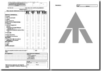 Enquête de satisfaction client : ISO 9001 et MASE