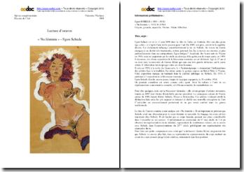 Analyse du Nu féminin d'Egon Schiele