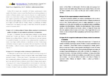 Pascal, Pensées, fragment 164 : étude linéaire