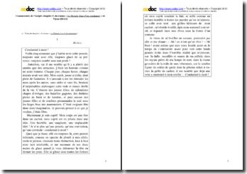 Victor Hugo, Le Dernier Jour d'un condamné, Incipit : commentaire