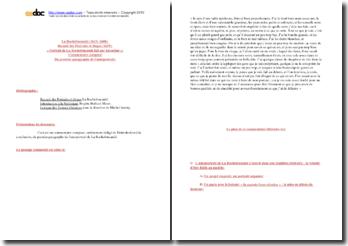 La Rochefoucauld, Recueil des Portraits et éloges, Portrait de La Rochefoucauld fait par lui-même, Premier paragraphe : commentaire