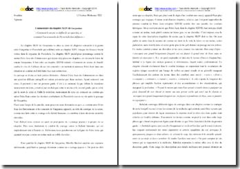 Rabelais, Gargantua, Chapitre XLIV : commentaire