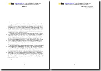 Emile Zola, La Bête humaine, Chapitre VII, Extrait : étude analytique