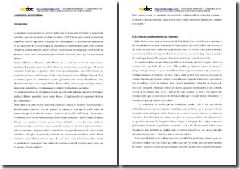 André Breton, Manifeste du surréalisme : commentaire d'un extrait