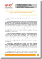 L'industrie du décolletage dans la vallée de l'Arve (Haute-Savoie, France) & les enjeux de la mondialisation et des délocalisations