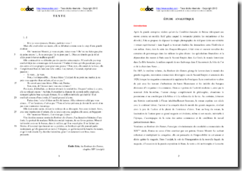 Emile Zola, Au Bonheur des Dames, Excipit (chapitre XIV) : étude analytique