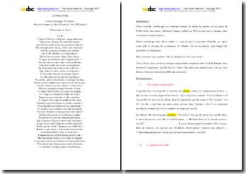 Corneille, L'Illusion Comique, Acte III scéne 6, Le monologue de Lyse : lecture analytique