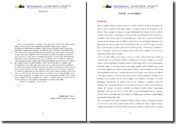 Emile Zola, L'Oeuvre, Chapitre VIII, Les échecs de Claude : étude analytique
