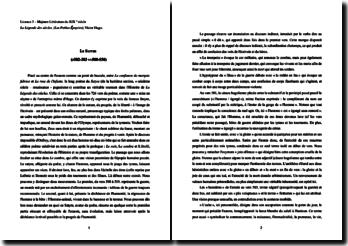 Victor Hugo, La légende des siécles, Le Satyre : commentaire linéaire