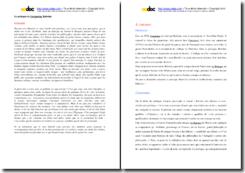 Rabelais, Gargantua, Prologue : étude linéaire