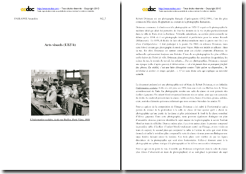 Doisneau, L'information scolaire : analyse (cycle 3)