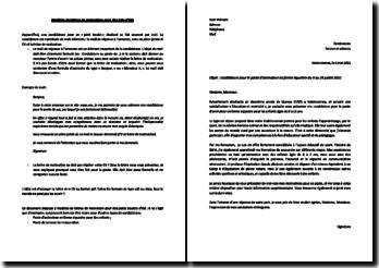 La lettre de motivation pour un job étudiant : explications et exemples