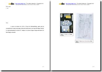 Merleau-Ponty, L'Oeil et l'Esprit : les conceptions de l'espace, du temps et du mouvement dans les arts