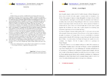 Emile Zola, La Fortune des Rougon, Chapitre III, Le docteur Pascal et le salon jaune : étude analytique