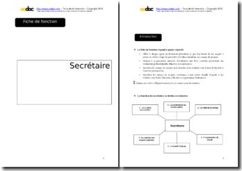 Auto-évaluation - Secrétaire en mairie