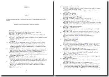 Marivaux, L'Ile des esclaves, Scène 1 : étude analytique, opposition de deux mondes et affranchissement