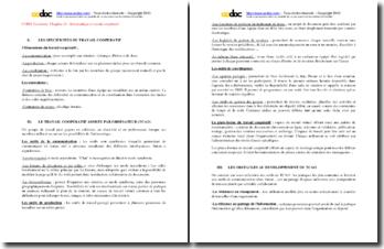 STG CGRH : Informatique et travail coopératif