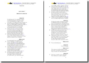 Corneille, L'Illusion comique, Acte I scène 1 : étude analytique