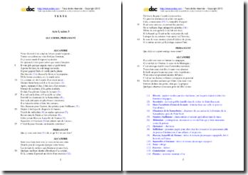 Corneille, L'Illusion comique, Acte I scène 3 : étude analytique