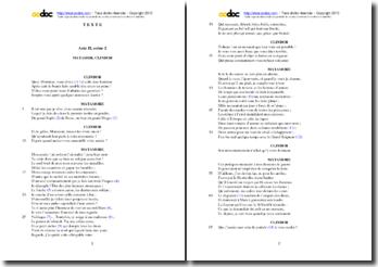 Corneille, L'Illusion comique, Acte II scène 2 : étude analytique