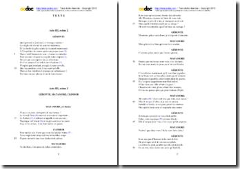 Corneille, L'Illusion comique, Acte III scènes 2 et 3 : étude analytique
