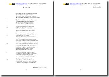 Baudelaire, Fleurs du Mal, Les Bijoux : étude analytique du poème