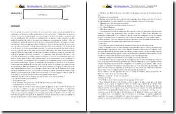 Diderot, La Religieuse, Extrait : étude linéaire