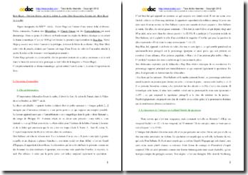 Victor Hugo, Ruy Blas, Scène d'exposition : commentaire composé