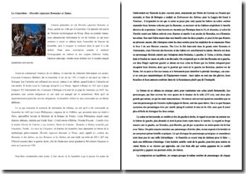 Le Guerchin, Hersilie séparant Romulus et Tatius : analyse de l'oeuvre