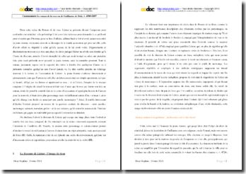 Jean Renart, Le roman de la rose ou de Guillaume de Dole, v. 4709-5097 : commentaire