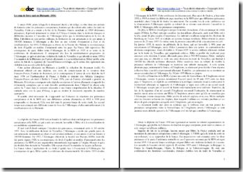 Le coup de force nazi en Rhénanie (1936) : commentaire de la dépêche du 9 mars 1936