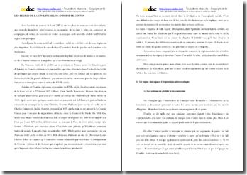 Antoine de Courtin, Nouveau traité de la civilité qui se pratique en France parmi les honnêtes gens, chapitre 11 : analyse