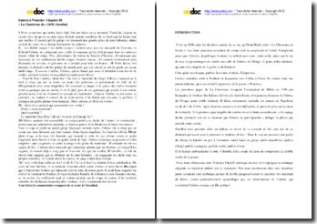 Stendhal, La Chartreuse de Parme, Fabrice à Waterloo (chapitre 3) : commentaire composé