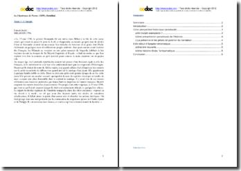 Stendhal, La Chatreuse de Parme, Incipit : explication de texte