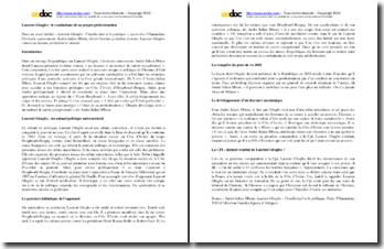 André-Julien Mbem, Laurent Gbagbo : l'intellectuel et le politique